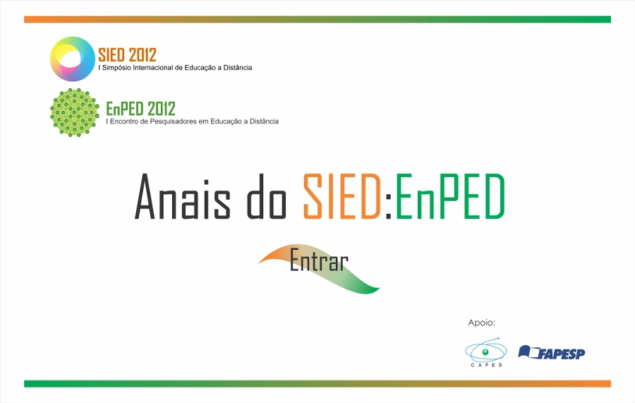 Anais SIED:EnPED 2012